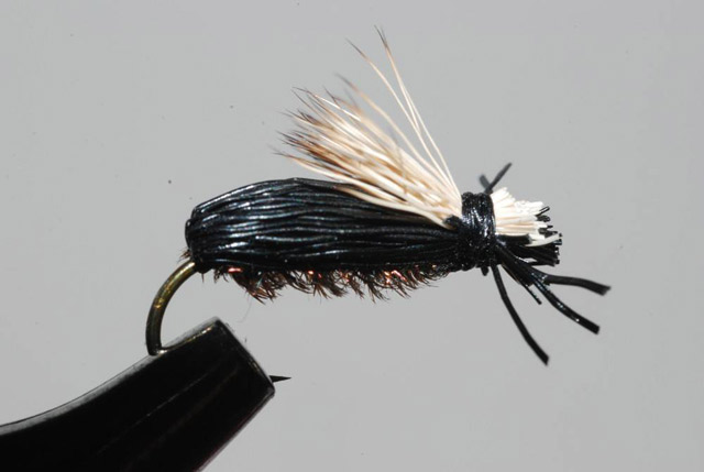 Murrays Flying Beetle Terrestrial trout fly fishing flies