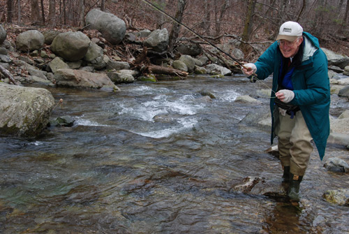 Fly Fishing Stream Report