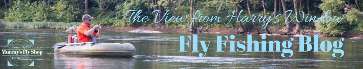 Fly Fishing Blog – The View From Harrys Window
