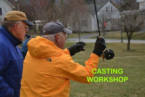 Fly Casting Workshop